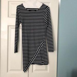 Black and white Reverse dress